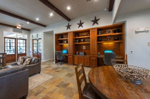 Apartments For Rent in Katy, TX - Clubhouse Interior Cyber Cafe